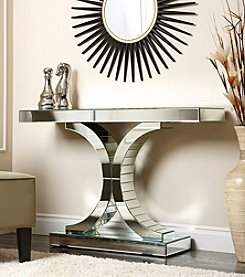 Abbyson Living® Halton Mirror Sofa Table