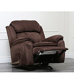 Abbyson Living® Harbor Microsuede Rocker Recliner
