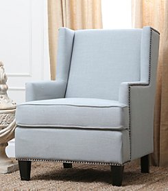 Abbyson Living® Morrena Fabric Nailhead Trim Armchair