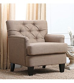 Abbyson Living® Freedom Tufted Fabric Club Chair