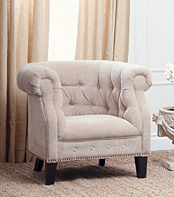 Abbyson Living® Camden Fabric Nailhead Trim Armchair