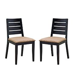 Abbyson Living® Set of 2 Bermuda Fabric Dining Chairs