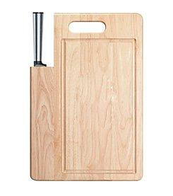 Ginsu® Koden Series Santoku Knife with Cutting Board
