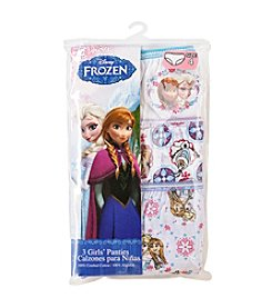 Disney® Girls' 2T-8 Three-Pack Frozen Underwear