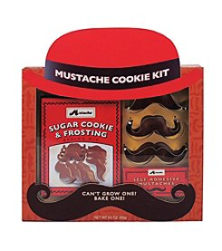 Coastal Cocktails Mustache Cookie Kit