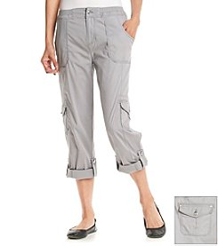 Laura Ashley® Cargo Crop Pants