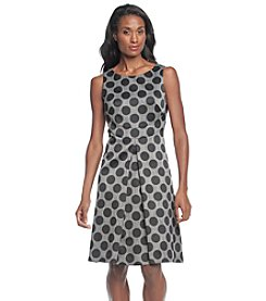 Nine West® Polka Dot A-Line Dress
