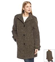 Jones New York® Raglan Sleeve Button Front Wool Coat