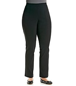Rafaella® Plus Size Solid Pull On Pants