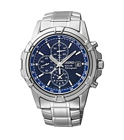 Seiko Solar Alarm Chronograph Watch