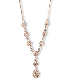 Givenchy® Rose Goldtone Y Necklace