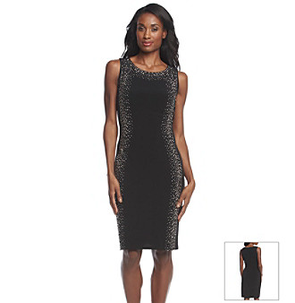 4c347d94 UPC 888738738736 product image for Calvin Klein Studded Sheath Dress    upcitemdb.com ...