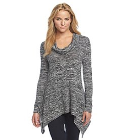 DKNY JEANS® Marled Cowlneck Sweater