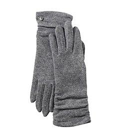 Lauren Ralph Lauren Ruched Button Gloves