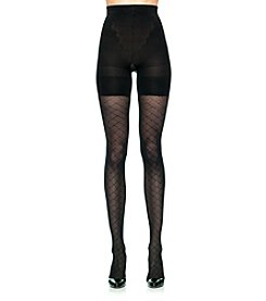 ASSETS® Red Hot Label™ by Spanx Patterned Tights - Diamond Crisscross