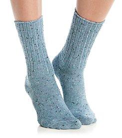 HUE® Tweed Boot Socks