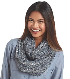 Basha All Over Nubby Lurex Scarf