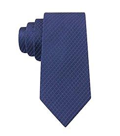 Calvin Klein Men's Luxe Grid Tie