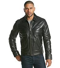 MICHAEL Michael Kors® Men's Lamb Leather With Shirt Collar