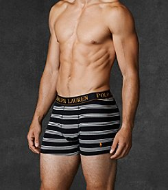 Polo Ralph Lauren® Men's Stripe Stretch Cotton Boxer Brief