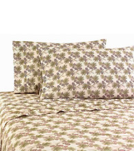 Shavel Home Products Micro Flannel® Pinecone Recreational Vehicle Sheet Set
