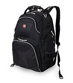 SwissGear® Black and Grey ScanSmart Backpack