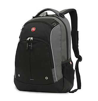SwissGear® Grey and Black Lightweight Backpack