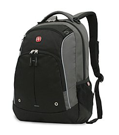SwissGear® Grey and Black Lightweight Backpack