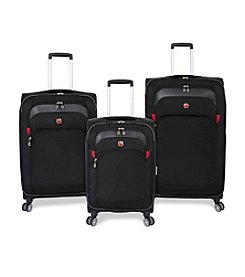 SwissGear® Black Upright Spinner Luggage Collection
