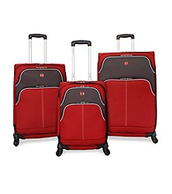 SwissGear® Red Upright Spinner Luggage Collection