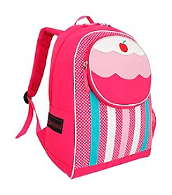 French West Indies Pink Cupcake Backpack