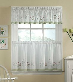 CHF Garden Flowers Window Treatment