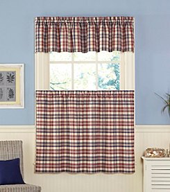 CHF London Plaid Tailored Valance
