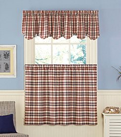 CHF London Plaid Window Treatment