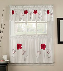 CHF Poppy Garden Window Treatment