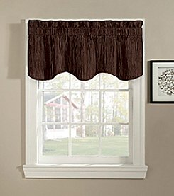 CHF Taffeta Scalloped Valance