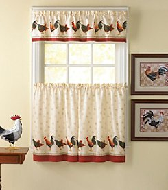CHF Morning Rooster Tier and Valance Set