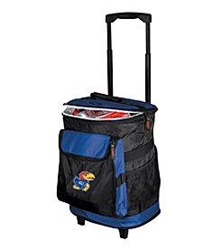NCAA® University of Kansas Rolling Cooler