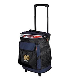 NCAA® University of Notre Dame Rolling Cooler