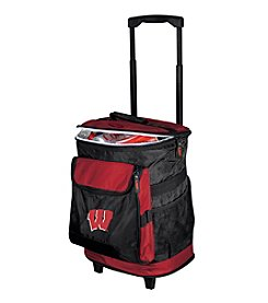 NCAA® University of Wisconsin Rolling Cooler