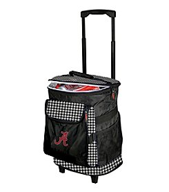University of Alabama Logo Chair Houndstooth Rolling Cooler