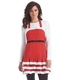 LivingQuarters Lady Claus Apron