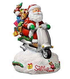 Santa Bring It Figurine by San Francisco Music Box Factory