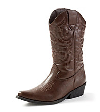 "Rampage® ""Wellington"" Western-Inspired Boots"