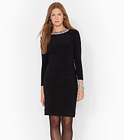 Lauren Ralph Lauren® Beaded Jersey Dress