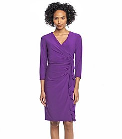 Kasper® Fitted Cascade Dress