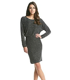 Jessica Howard® Petites' Sparkle Scoopneck Blouson Dress