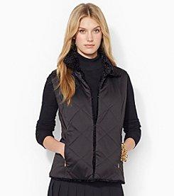 Lauren Ralph Lauren® Reversible Funnelneck Vest