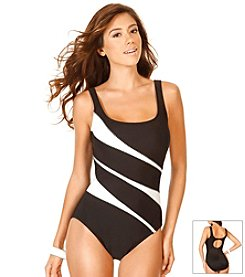 Miraclesuit® Color Mix Helix One Piece Swimsuit