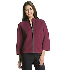 Jones New York Signature® Petites' Zip Front Swing Jacket